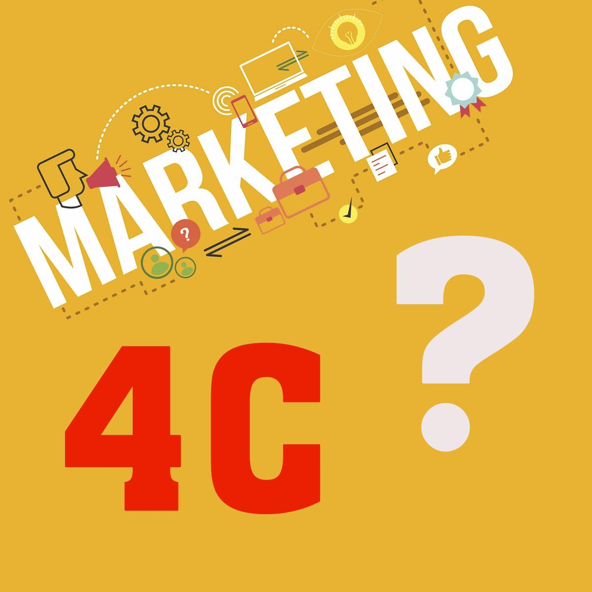 Phân tích marketing 4C - Quan điểm hướng về khách hàng