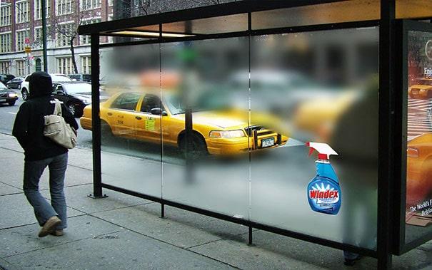 Ambient Advertising là gì? - windex