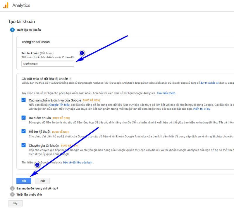 cách cài đặt google Analytics cho wordpress 03