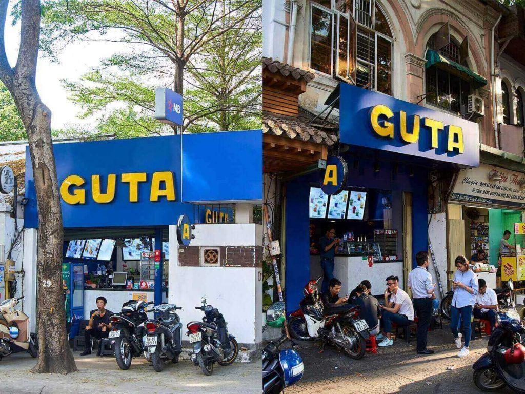"""Guta là thương hiệu đi đầu trong mô hình kinh doanh nhượng quyền thương hiệu cafe """"cà phê ghế cóc"""