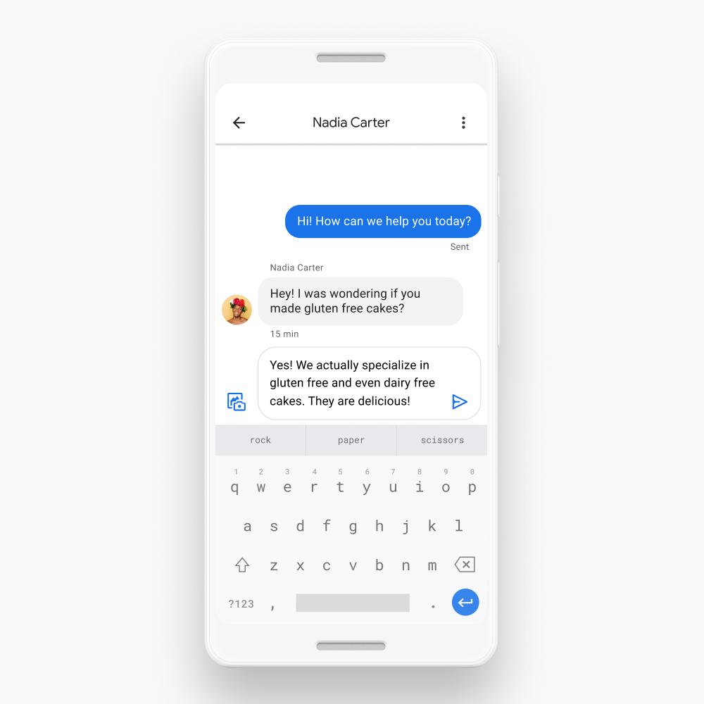 Tính năng nhắn tin trực tiếp trên Google Maps và Google Search