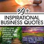 39 Plus Inspirational Business Quotes Business Motivation Quotes
