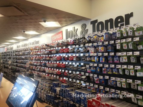 Staples in-store