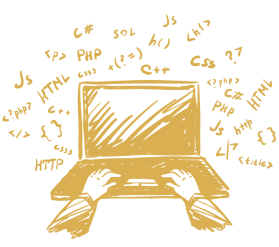 illustration of laptop for post covid-19 skills article 2