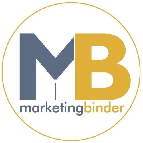 Marketing Binder Social Media Logo