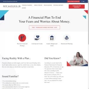 Personal Financial Strategy – Roy Matlock Jr.