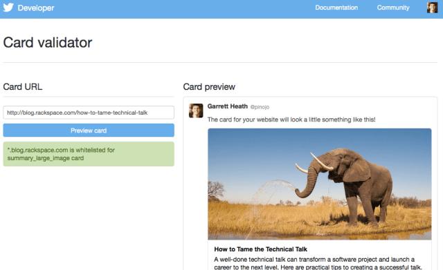 Twitter-Card-Validator
