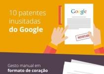 O Google e suas 10 patentes inusitadas!