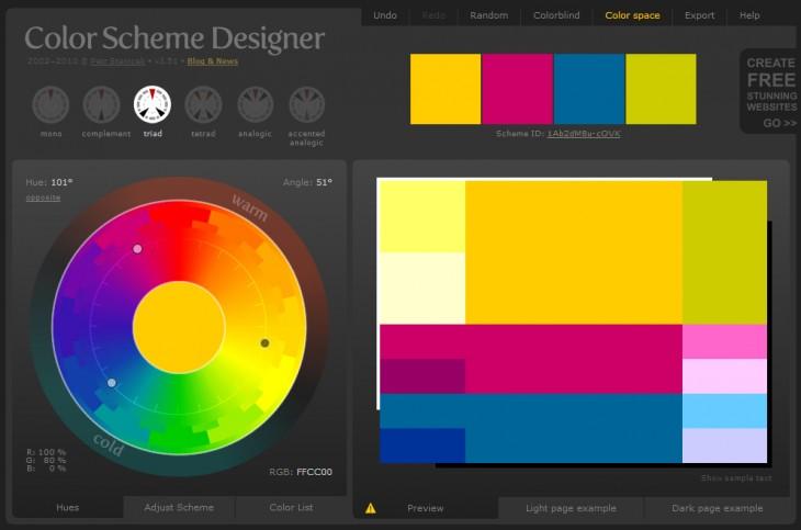 O Color Scheme é O Mais Funcional Das Ferramentas Apresentadas. Ele Indica  Na Color Wheel Cores Quentes E Cores Frias (ideal Para Novatos), ... Part 61