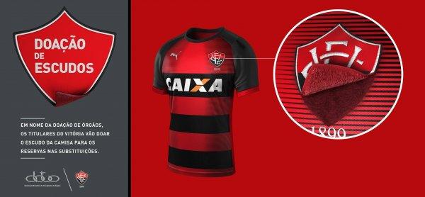 camisa_escudo_removivel_Vitoria_doacao_orgaos1