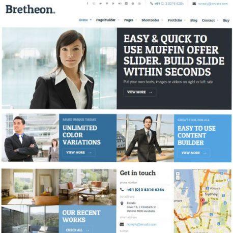 Site barato para a empresa: temas wordpress