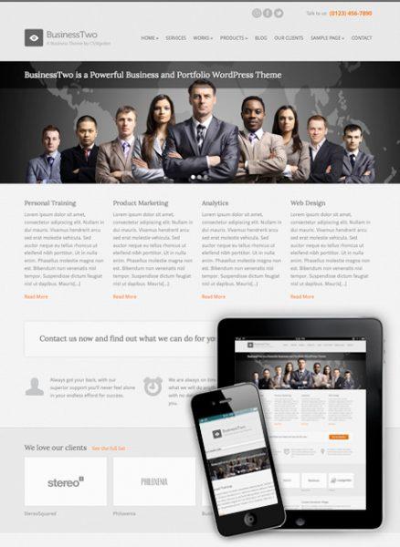 Site barato para os negócios: wordpress