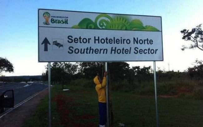 Erros de tradução durante a Copa no Brasil