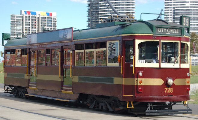 Melbourne Tram Day Time 660x400