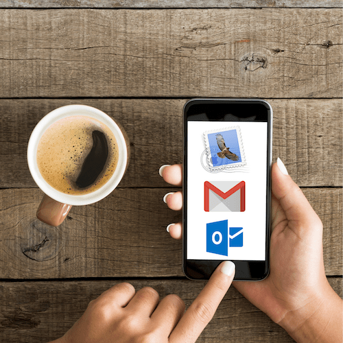 Coffee iphone Gmail Apple Mail Outlook Logo 500x500pxl