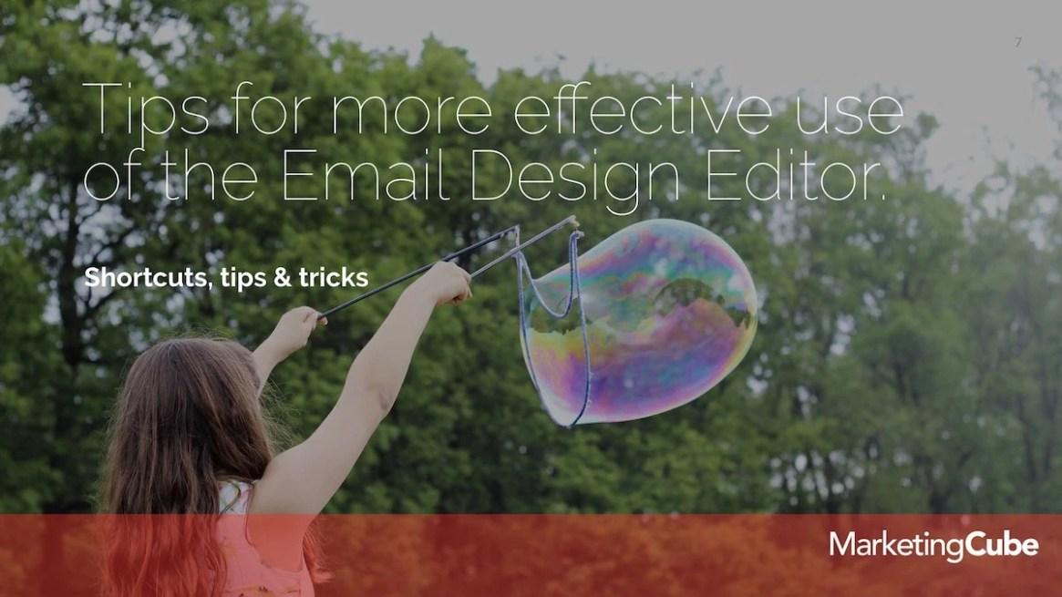 20190226 Email Design Editor FEB Eloqua User Group