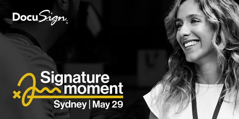 BANNER DocuSign Signature Moment 29th May