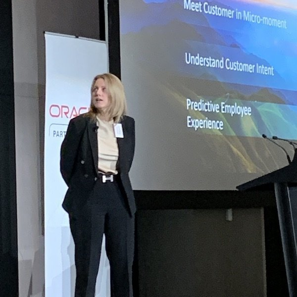 Belinda Burgess, General Manager - Customer Experience Applications, A/NZ