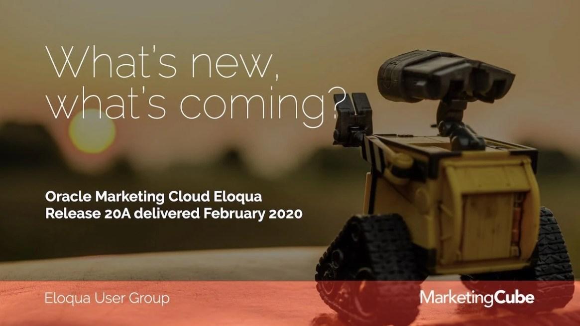 20200324 MAR Eloqua User Group.001