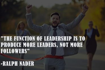 Ralph nader New Year leadership quotes