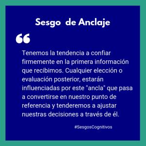 Sesgo de Anclaje Image
