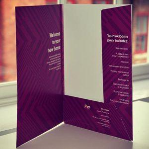 350gsm Premium Presentation Folders