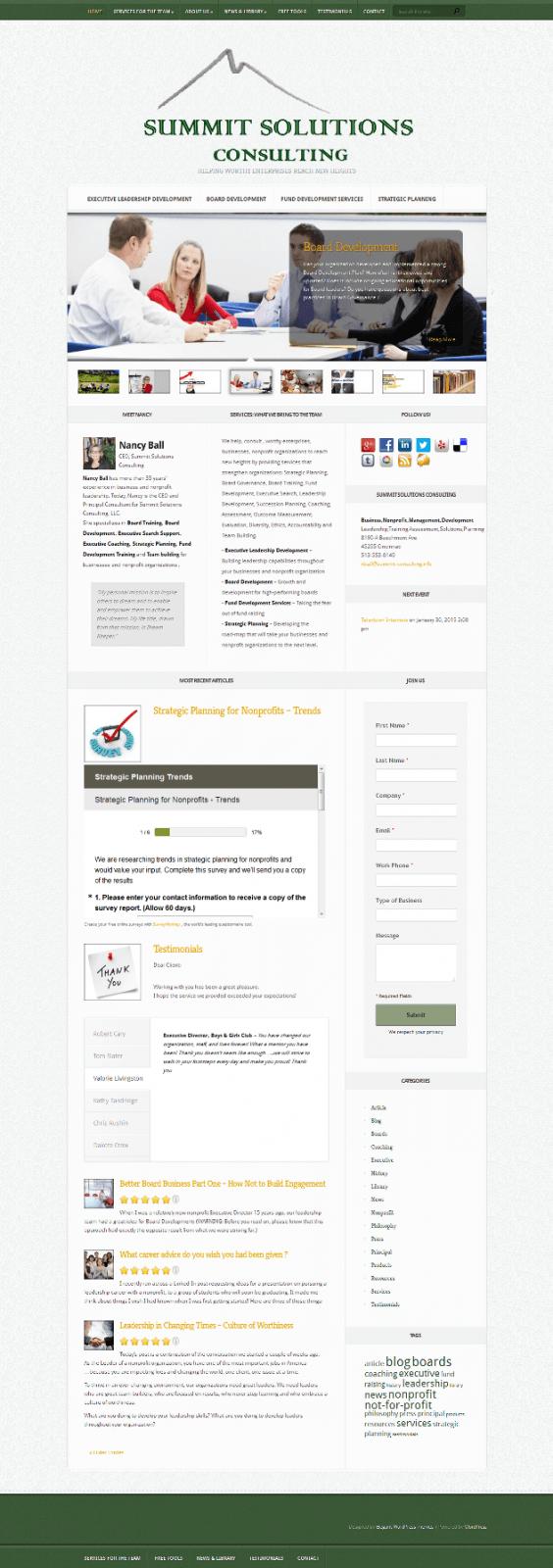 Business Consulting,NonProfit,Management,Cincinnati,OH