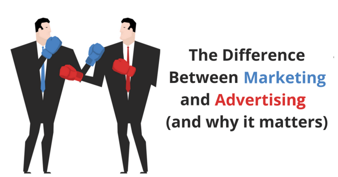 The Difference Between Marketing and Advertising (and Why It ...