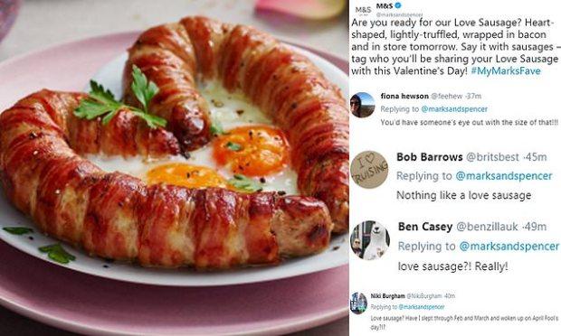 Love sausage Twitter