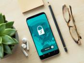 lock, private, phone, technology