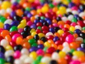 coloured jellybeans