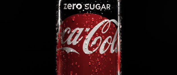 A can of Coca-Cola Zero.