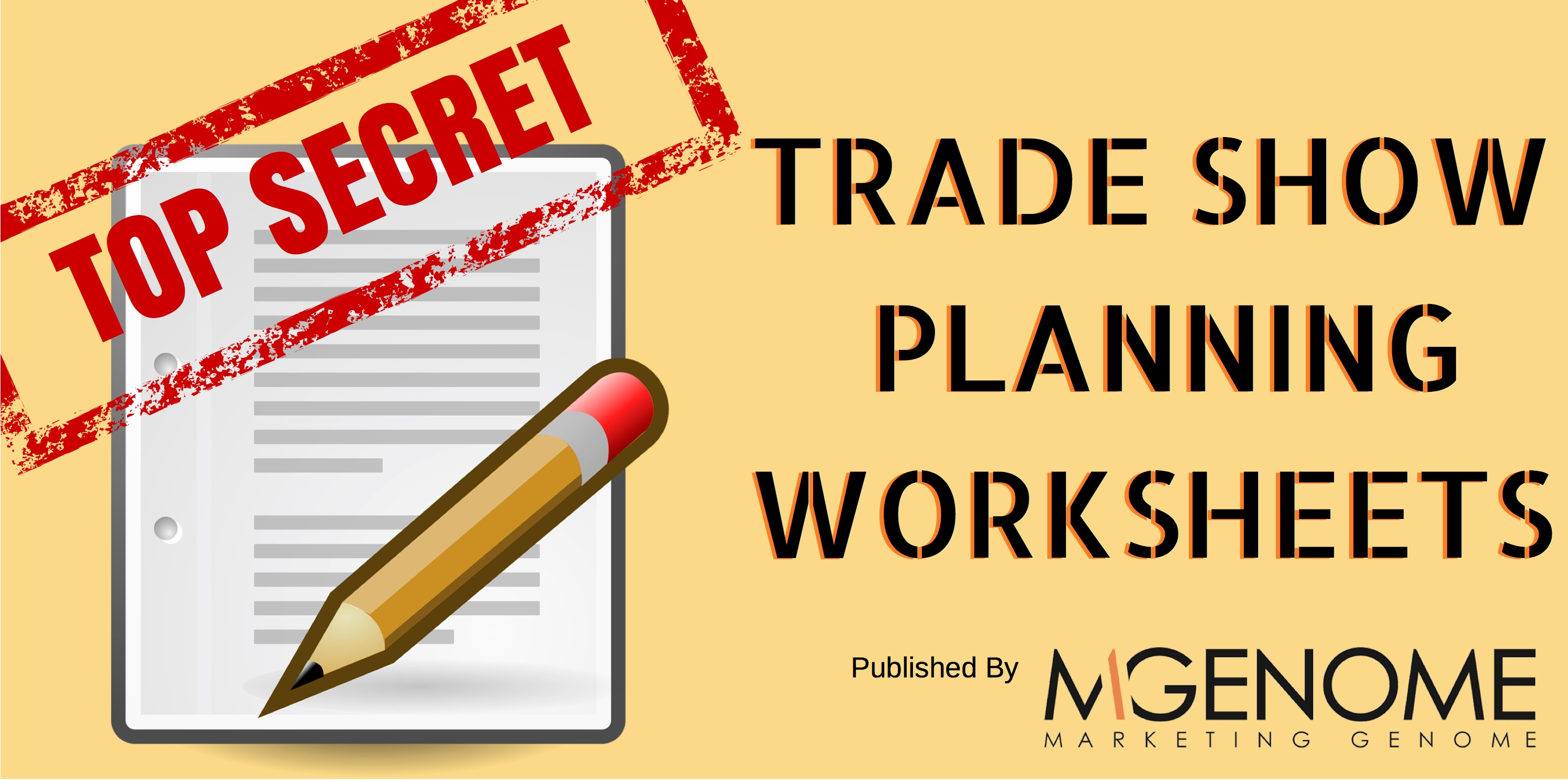 Trade Show Planning Worksheets