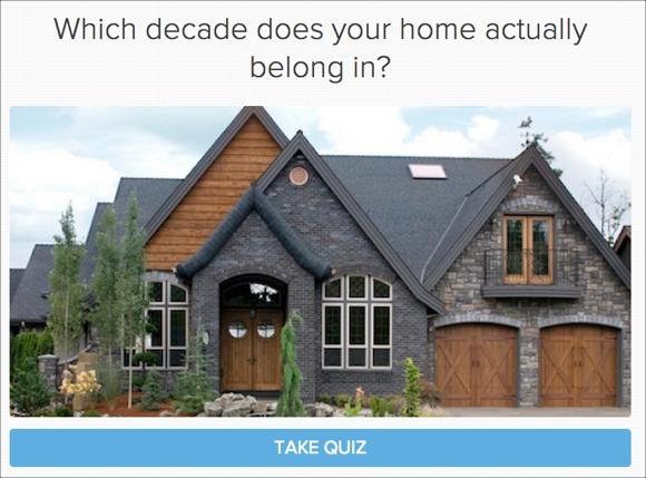 К какому десятилетию относится ваш дом?