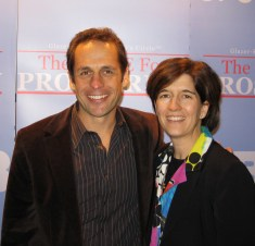 Shannon & Rory Fatt at the Info Summit