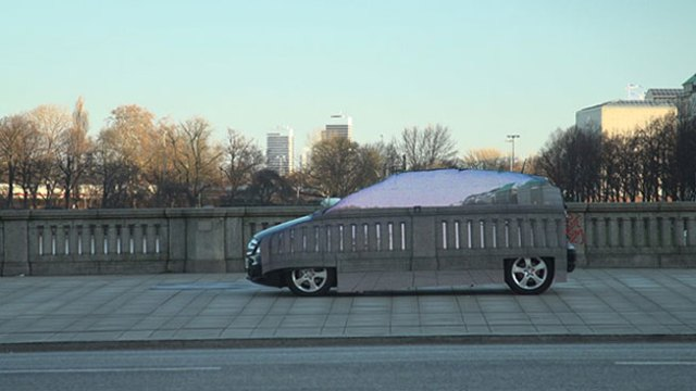 Invisible Car' Campaign for 'Mercedez Benz'
