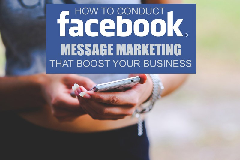 Facebook message marketing