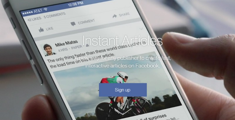 Instant Articles marketing