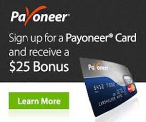 Sign Up Payoneer