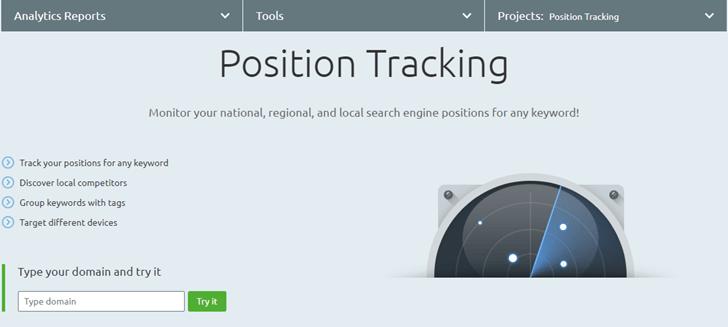 Free SERP rank tracker