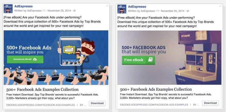 how to test a product on facebook