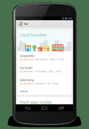 Google Map Eat