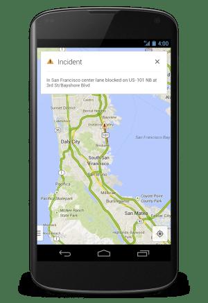 Google Map Incident