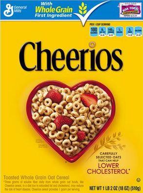 Cherrios - Health Stats on Box