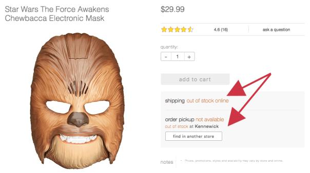 Target.com product listing.