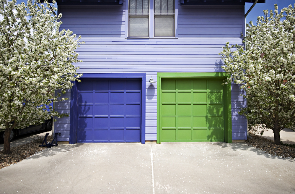 3 Tips for Choosing the Right Color for Your Garage Door ... on Choosing Garage Door Paint Colors  id=31493