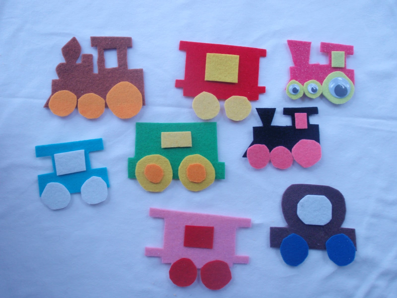 Train Crafts For Kids