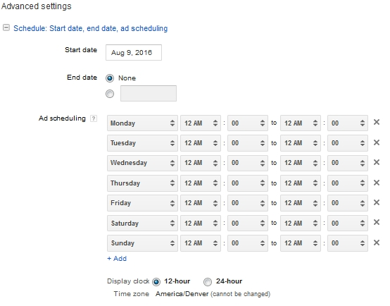 ad-schedule