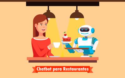 Fideliza a tus clientes con un Chatbot para restaurantes