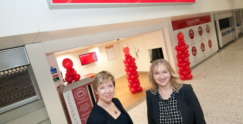 Luggage-Point lands at Manchester Airport - Marketing Stockport